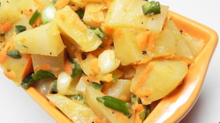 Hot ' n Spicy Potato Salad