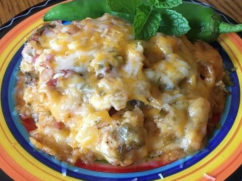 Mexican Chicken Pie