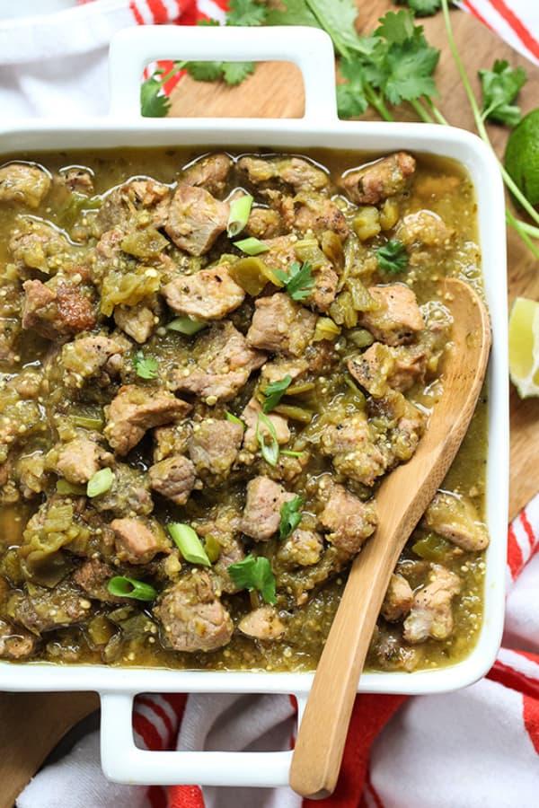 Slow Cooker Pork Chile