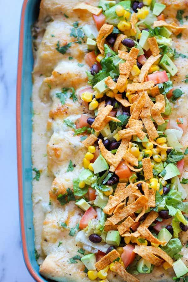Sour Cream Enchilada
