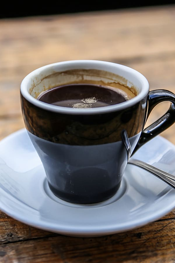 "Americano (also known as a ""Long Black"")"