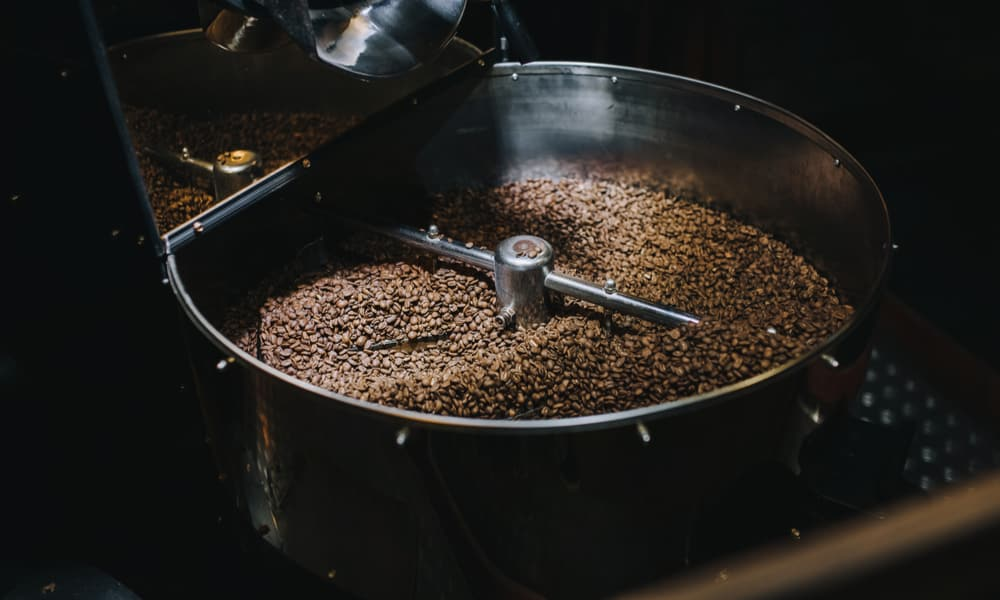 An important part of roasting is…cooling