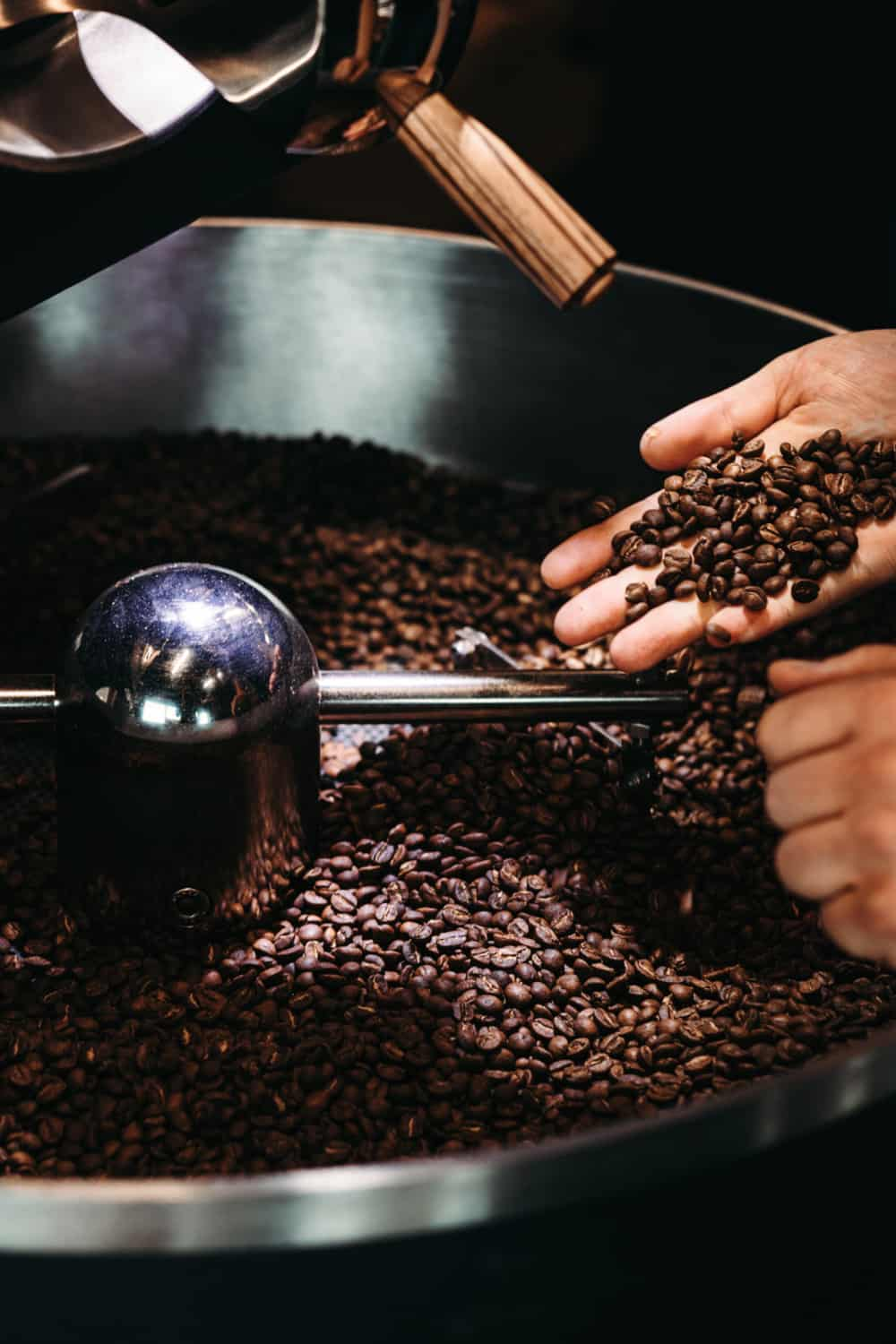 For the best flavor, freshly roasted coffee beans need time to degas