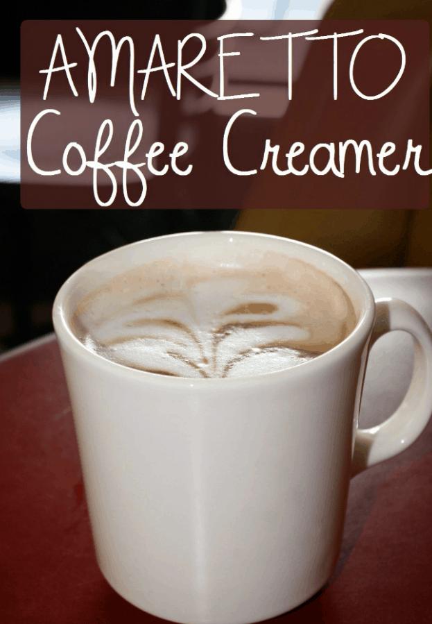 The Amaretto Coffee Creamer