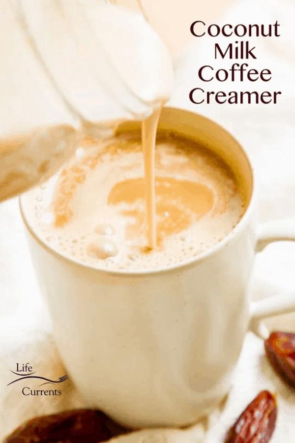 The Coconut Milk Coffee Creamer