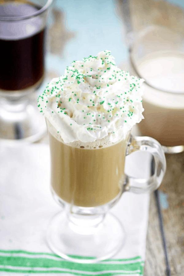 The Irish Cream Coffee Creamer