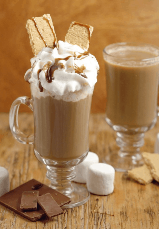 The S'mores Coffee Creamer