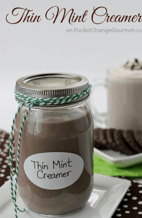 The Thin Mint Creamer