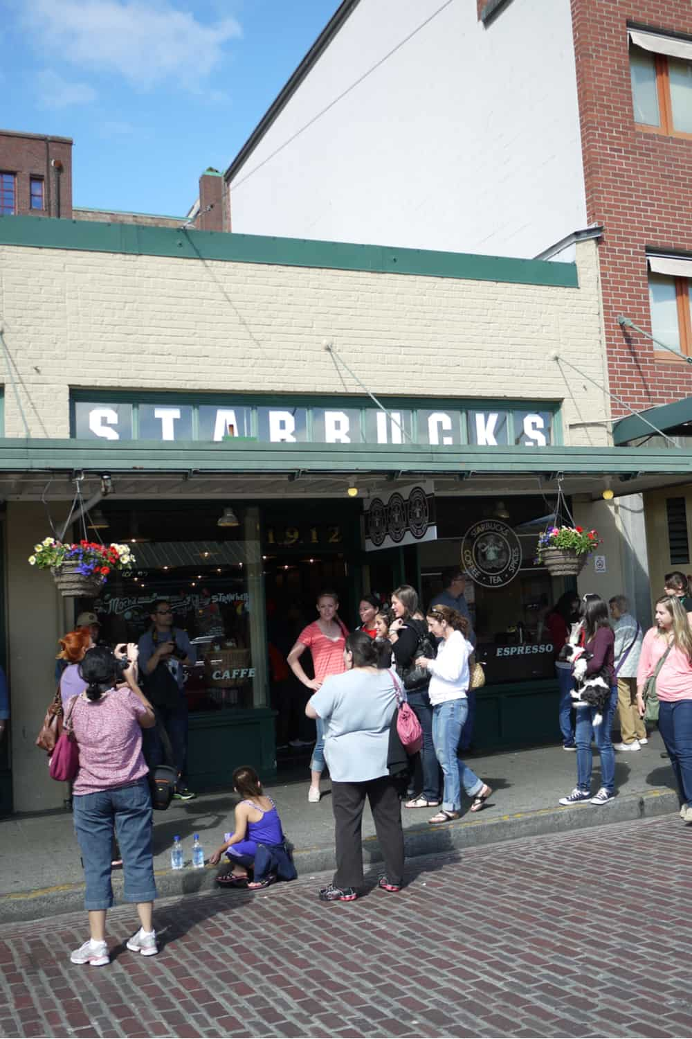 The first Starbucks opened in Seattle in 1971