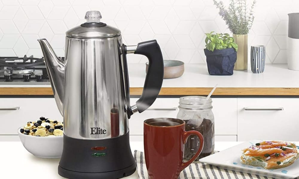 What are the advantages and disadvantages of using a percolator