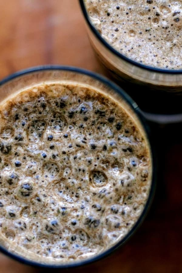 Add some spinach to your mocha smoothie!