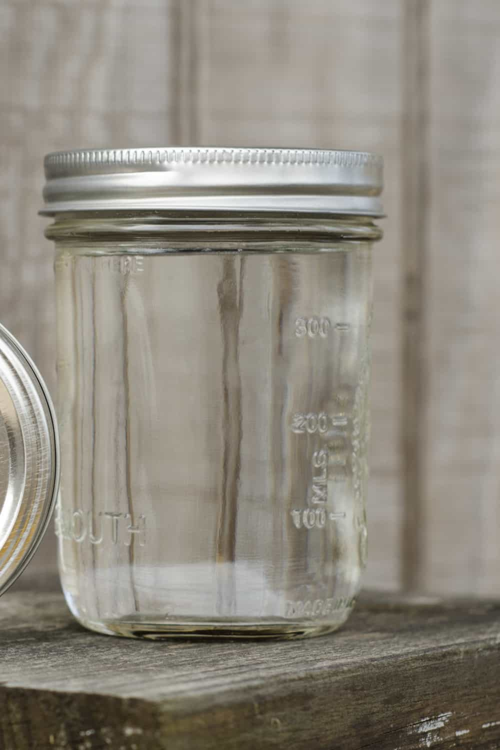 Bottle or jar for storage