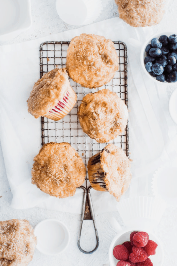 Coffee muffins with…blueberries!