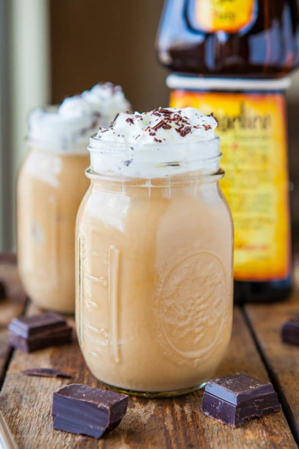 Creamy Boozy Iced Coffee (Smoothie)