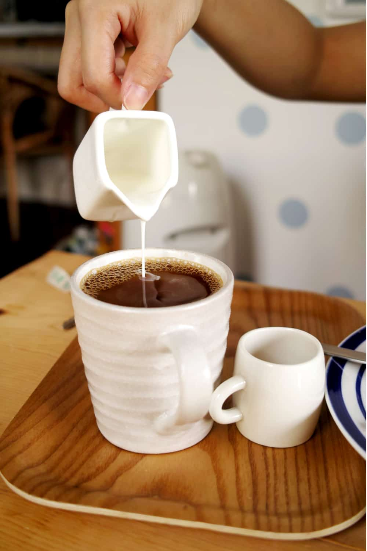 First, the bad news of freezingLiquid Coffee Creamer