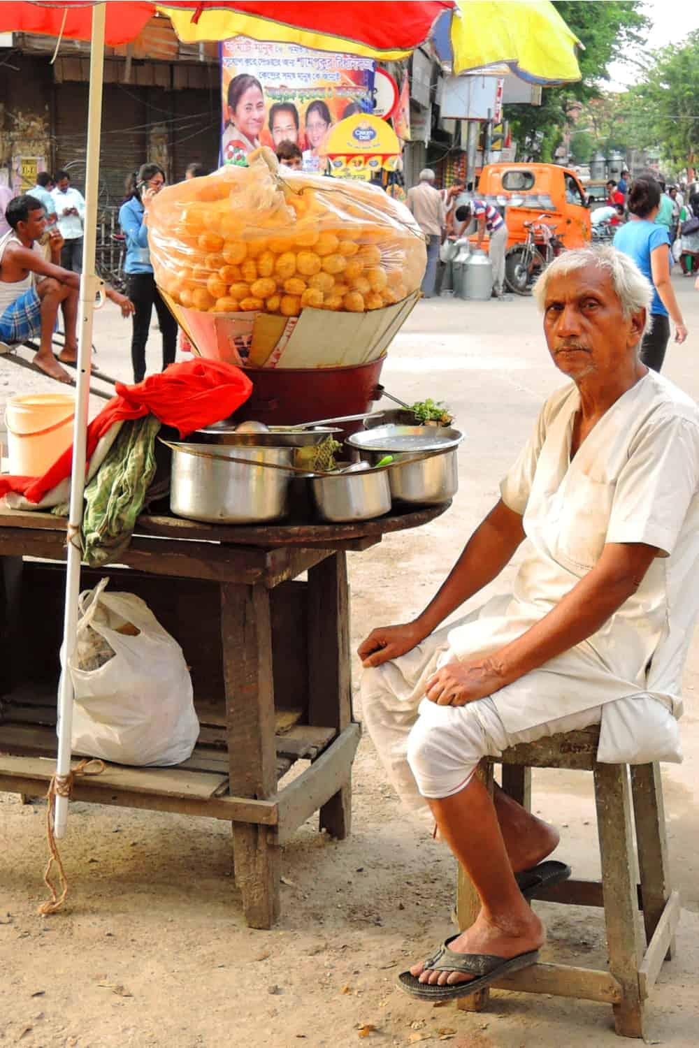 Indian Street Food Panipuri
