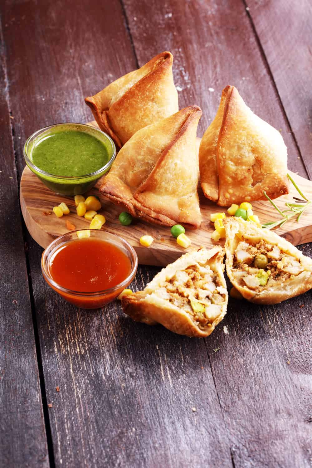 Indian Street Food Samosa