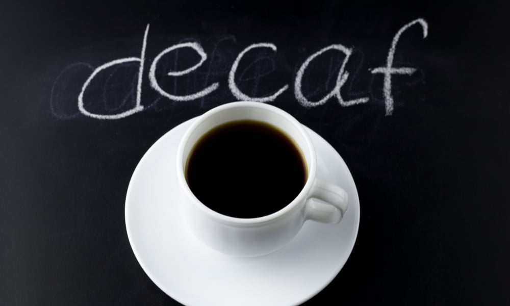 Is decaf coffee any better