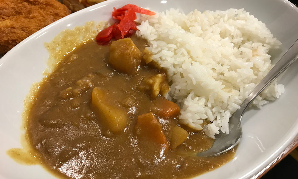 Japanese Street Food Curry Rice