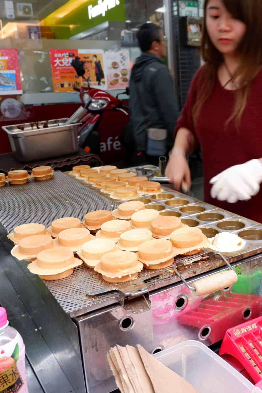 Japanese Street Food Imagawayaki
