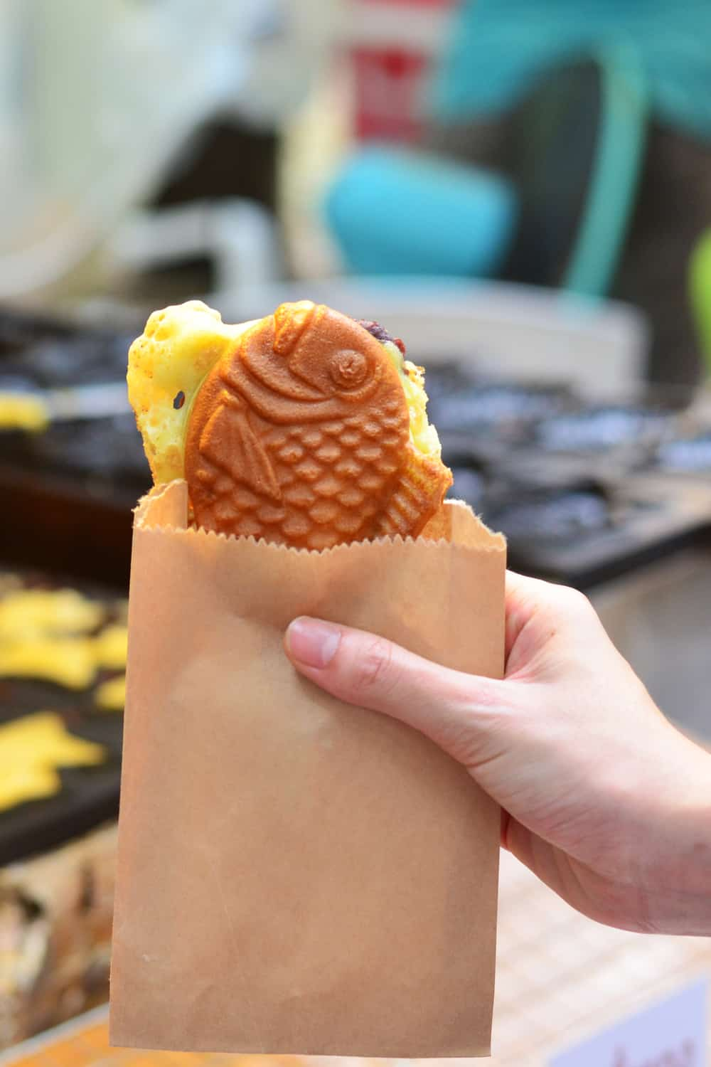 Japanese Street Food Taiyaki