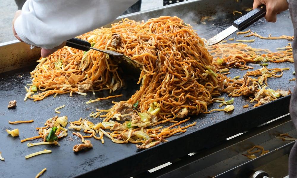 Japanese Street Food Yakisoba