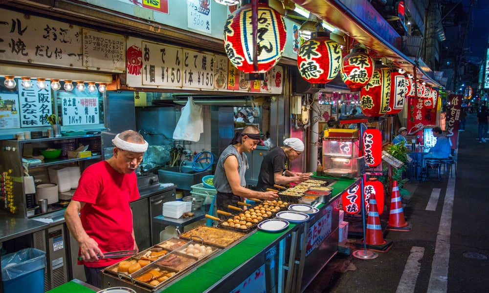 Japanese Street Food