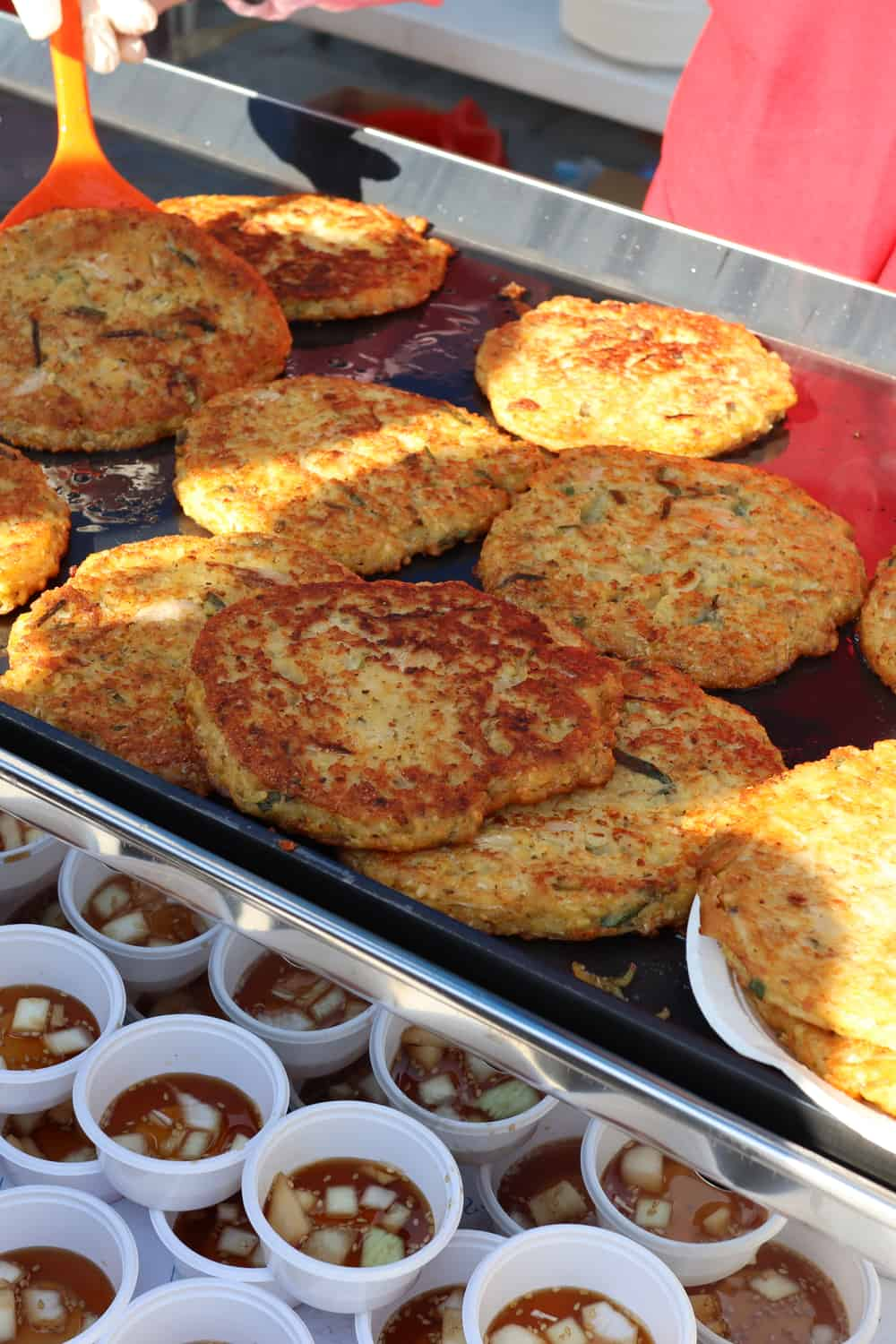 Korean Street Food Bindaetteok – Hash Brown
