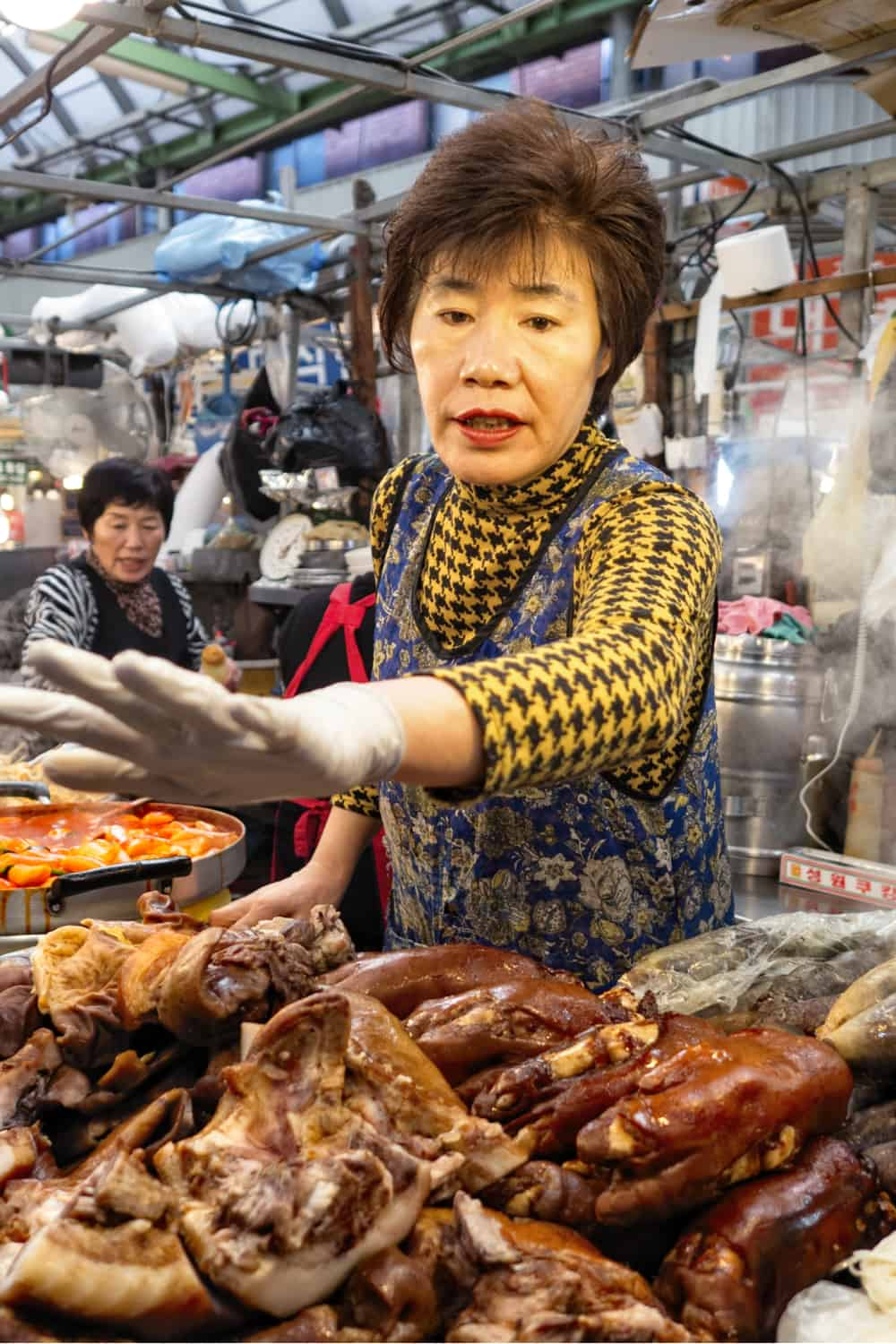 Korean Street Food Jokbal – Pig Trotters