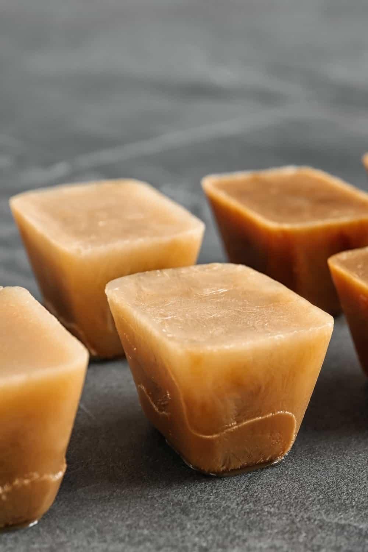 Make coffee ice cubes