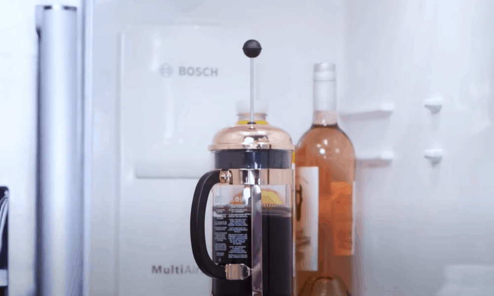 Store your cold brew coffee