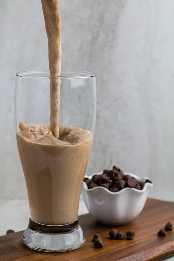 The Chocolate Chip Mocha Smoothie