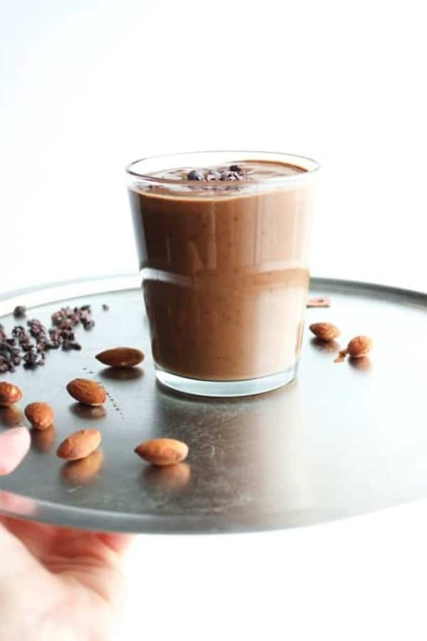 The Coconut Almond Coffee Smoothie