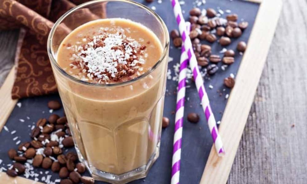 The Coconut Chocolate Coffee Smoothie