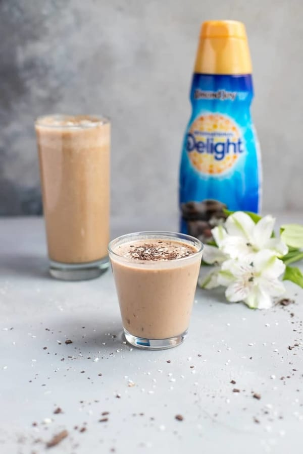 The Easy Almond Coffee Smoothie
