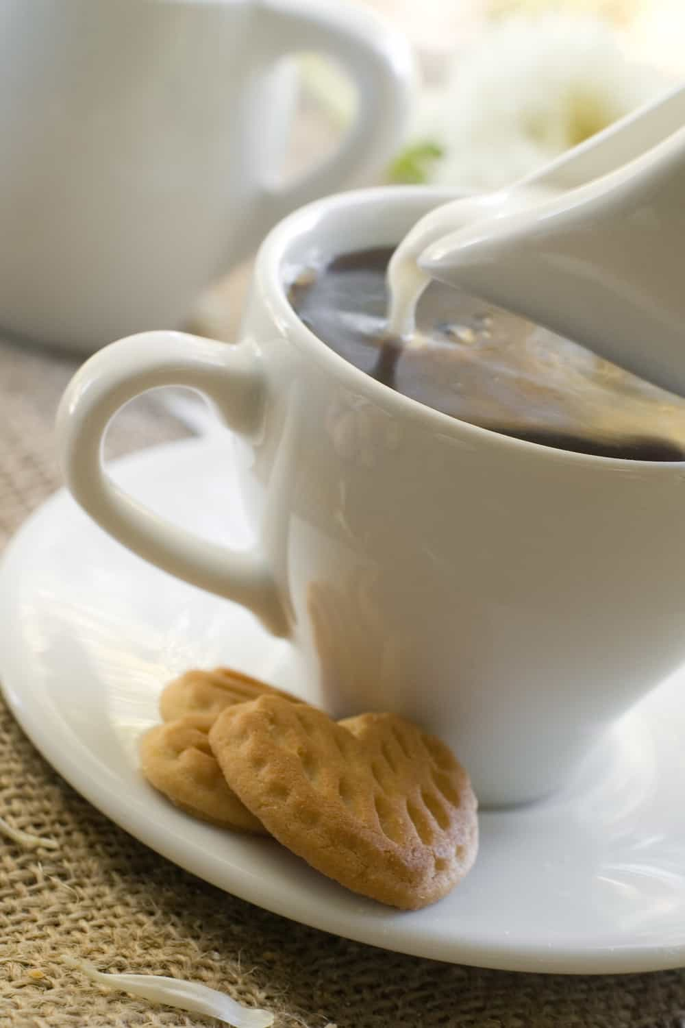 What are liquid coffee creamers made from