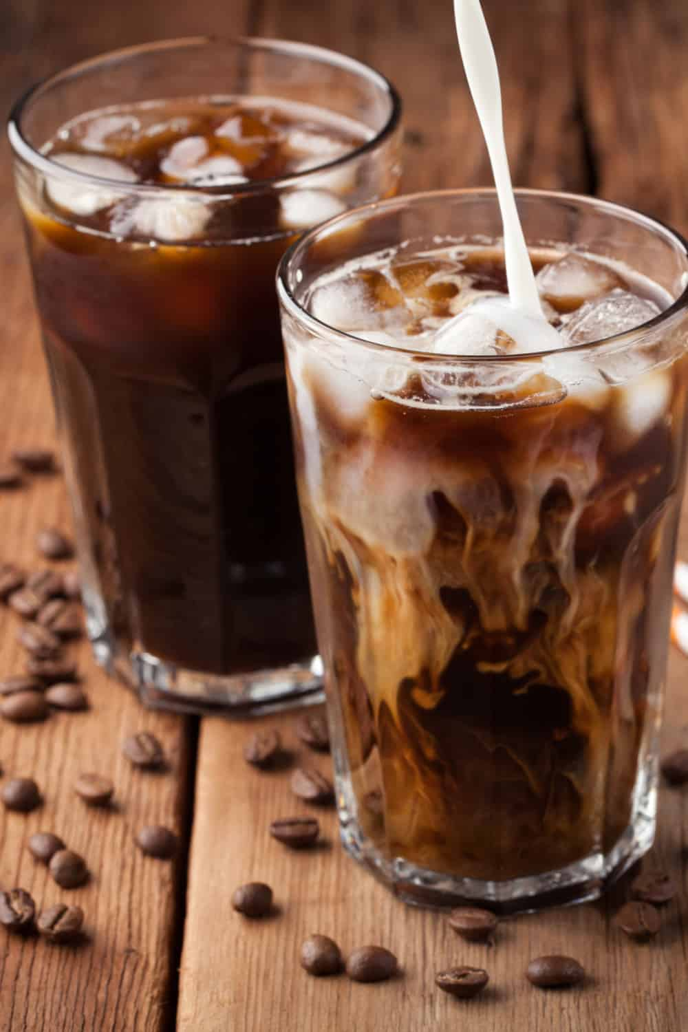 Where did the idea of cold coffee originate