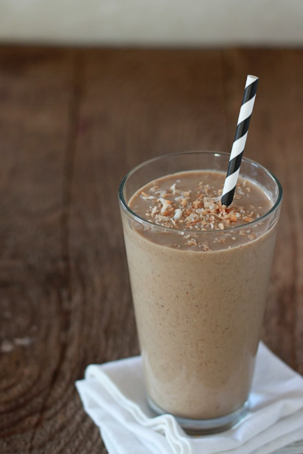You'll be in coconut heaven with this shake