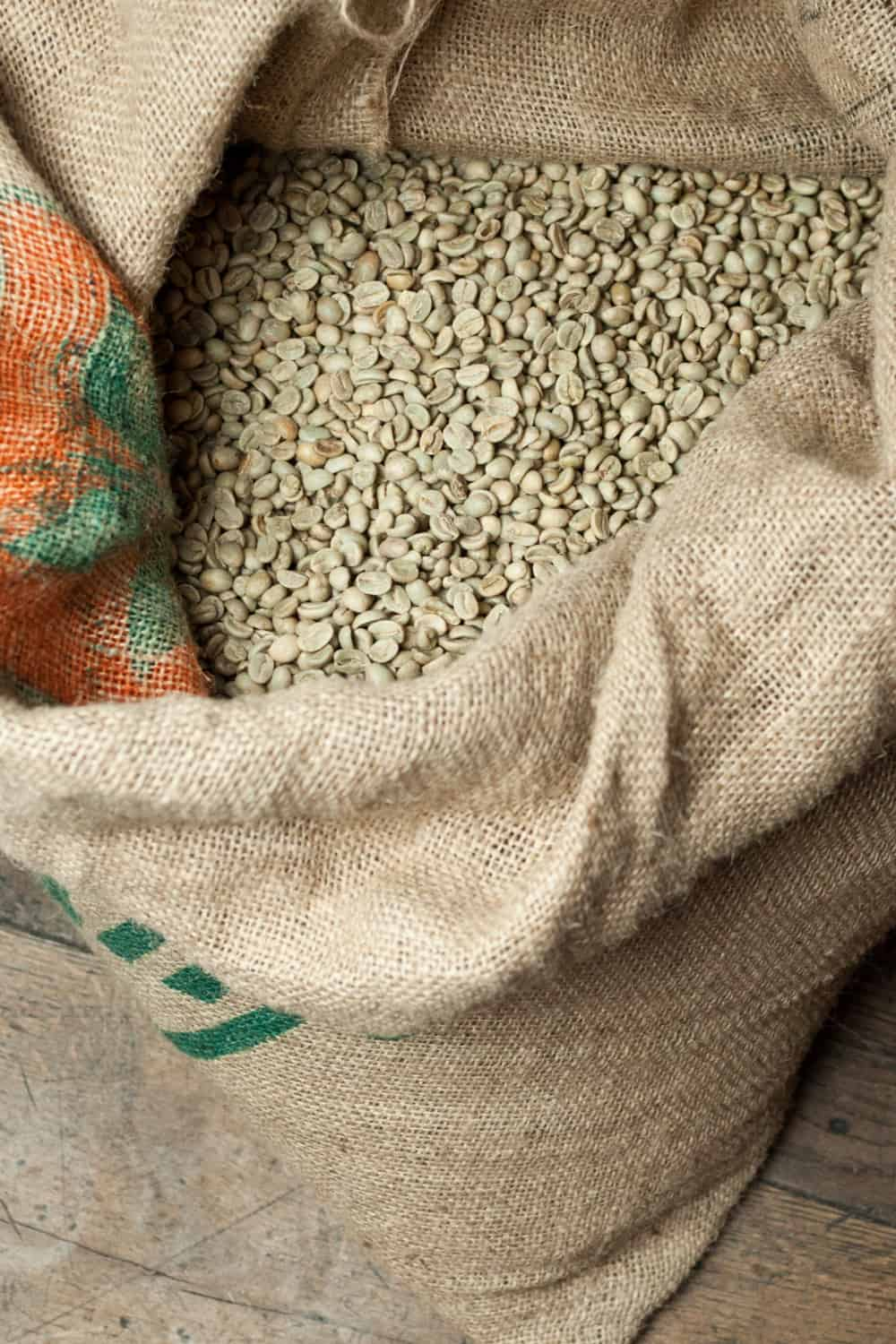 green coffee beans for sale