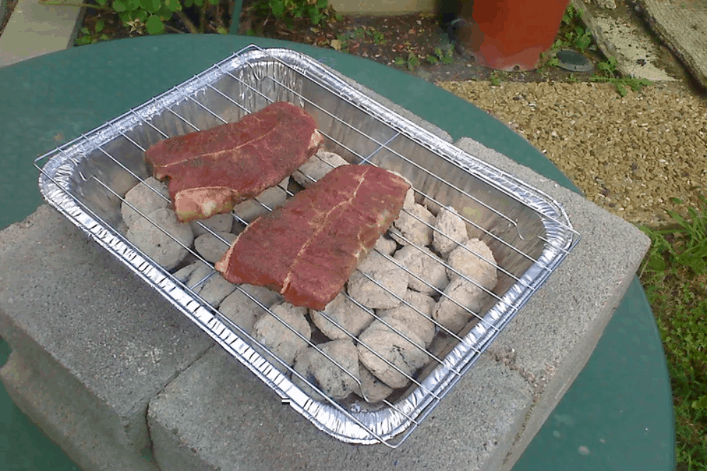 $2 Charcoal Grill