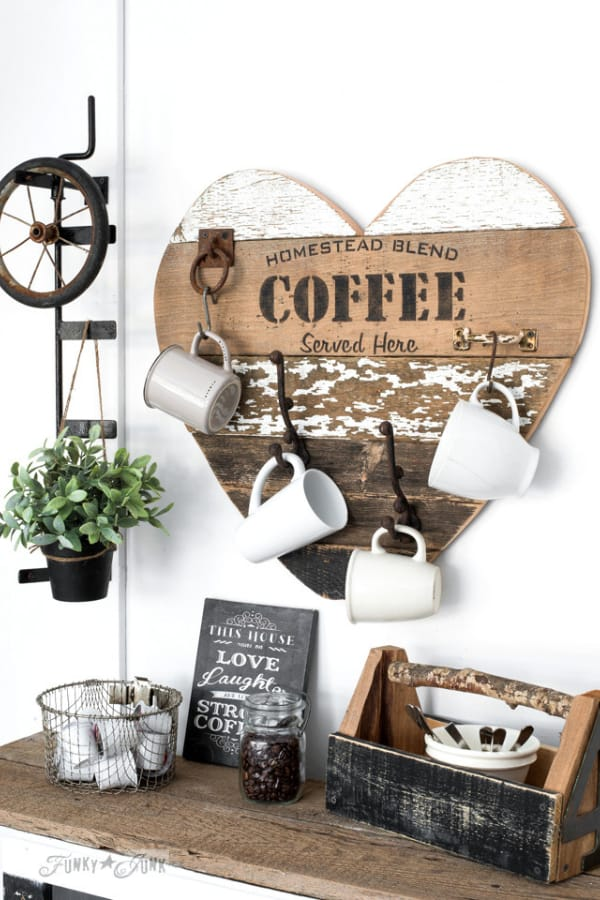 3 ways to use a reclaimed wood salvaged junk heart