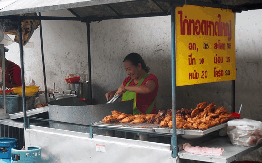 Bangkok Street Food Gai Tod (Fried Chicken)