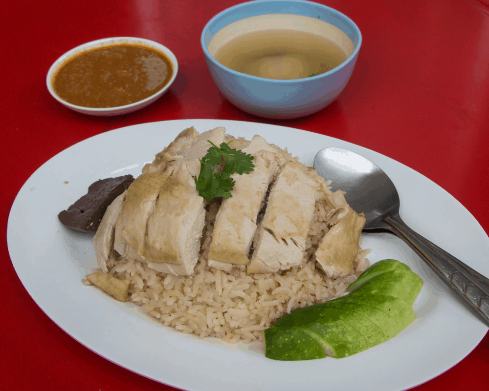 Bangkok Street Food Khao Mun Gai (Chicken with Rice)