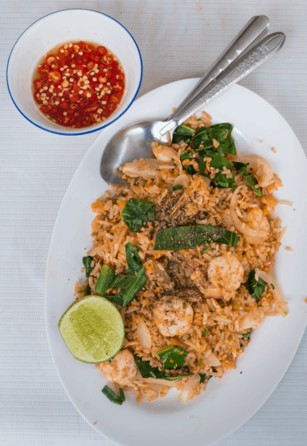 Bangkok Street Food Khao Pad (Fried