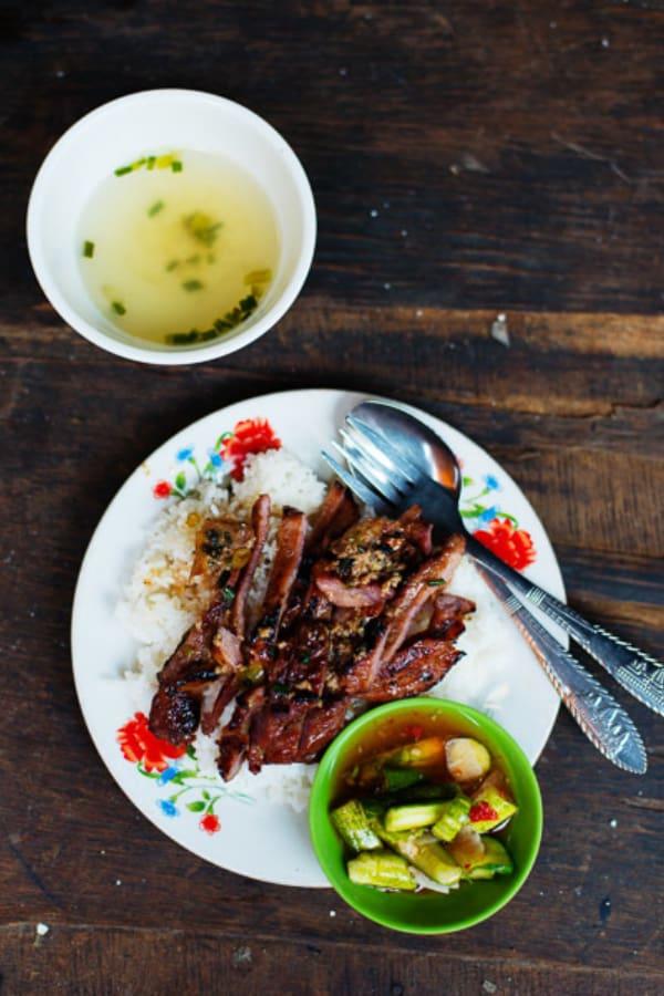 Cambodian Street Food Bai Sach Chrouk