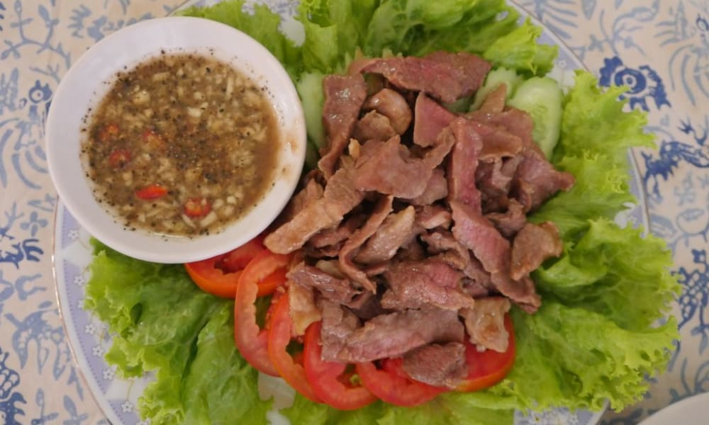 Cambodian Street Food Lok Lak