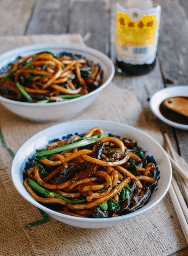 Chinese Street Food Chao Mian (Fried Noodles)