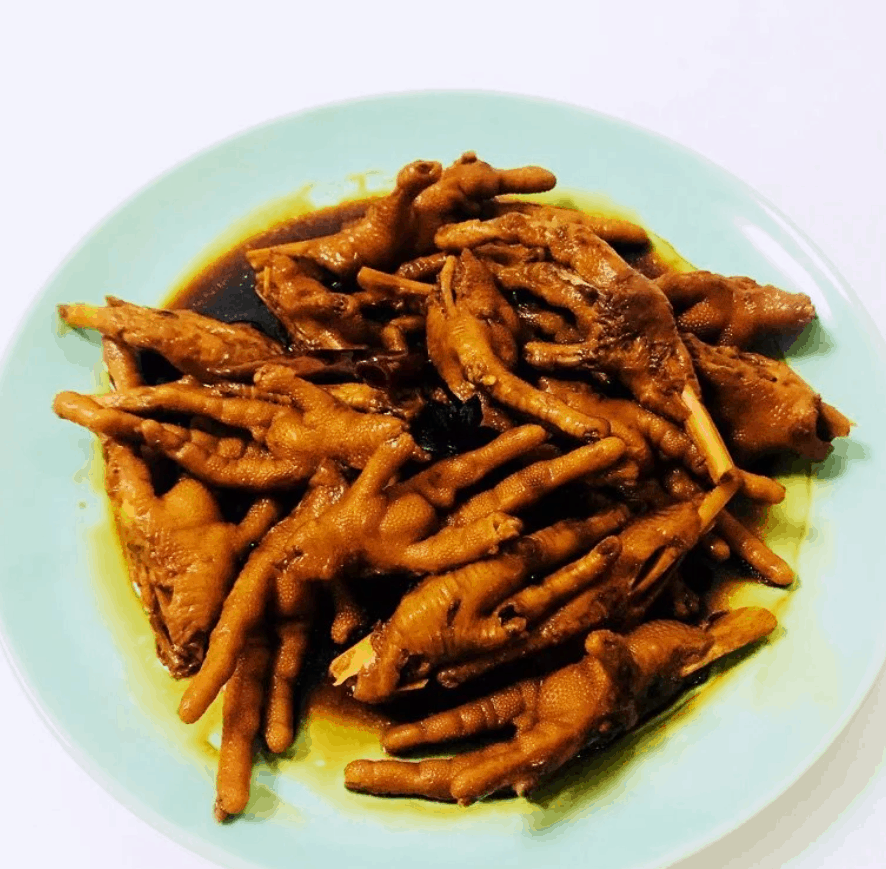Chinese Street Food Ji Zhua (Chicken Feet)
