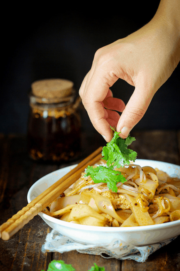Chinese Street Food Liang Pi (Cold Noodles)