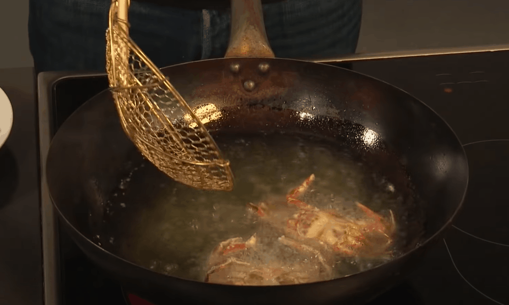 Chinese Street Food Soft-Shelled Crab